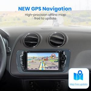 Image 3 - (код черной пятницы: BFRIDAY1000 12000₽ 1000₽) Junsun 2 din Автомобильный Радио dvd плеер для Seat Ibiza 2009 2010 2011 2012 2013 Android 9,0 GPS навигация 2 ГБ + 32 Гб опционально