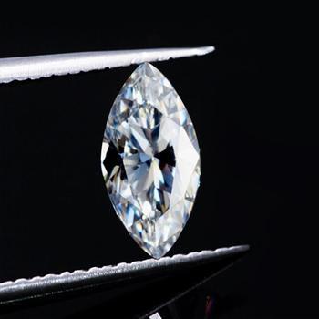 Szjinao 진짜 100% 느슨한 Moissanite 돌 5*10mm 1ct 캐럿 Marquise 절단 보석 다이아몬드 물자를위한 우수한 GRA Moissanite