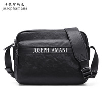 genuine leather shoulder bag Head layer cowhide bolsa feminina men high end JOSEPHAMANI brand Messenger Bag