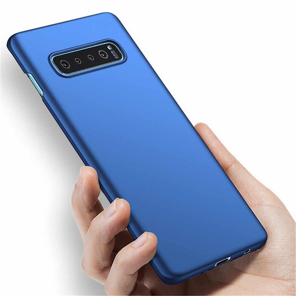 Ultrasottile di Lusso Dura del PC di Protezione Della Copertura di Caso Per Samsung Galaxy S10 Più posteriore di Protezione Del Telefono Borsette Antiurto Cassa del telefono