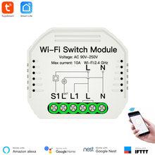 Умный выключатель 90 250 В высококачественный модуль wi fi smart