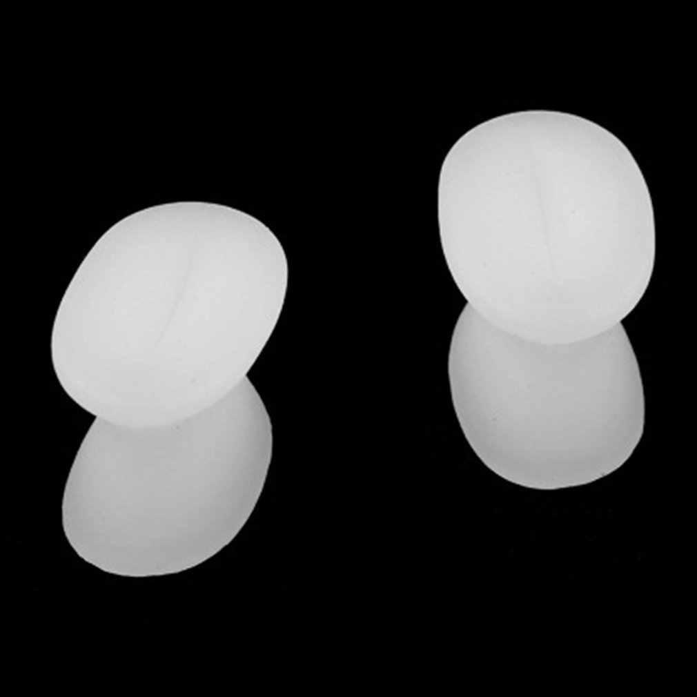 1 coppia Super Molle Del Silicone Plantari Punta Gel Piedi di Cura di Sollievo Dal Dolore Separatore della Punta del Pollice Valgo Protezione Borsite Regolatore