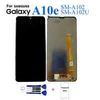 Pour Samsung A10e A102 SM-A102U écran lcd remplacement de l'écran pour Samsung A10E A102 SM-A102U écran d'affichage à cristaux liquides module complet