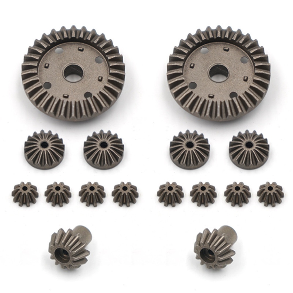 ​16pcs/Set <font><b>Metal</b></font> Gear Upgrade Accessories Rear Drive Shaft for 1:12 <font><b>WLtoys</b></font> <font><b>12428</b></font> 12423 RC Car Monster Truck Parts image