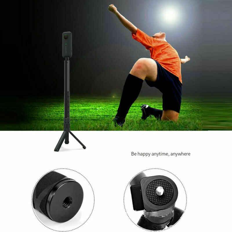 Kamera Tripod 360 ° döner kolu mermi zaman paket Accsory uzatma çubuğu Insta360 ONE X