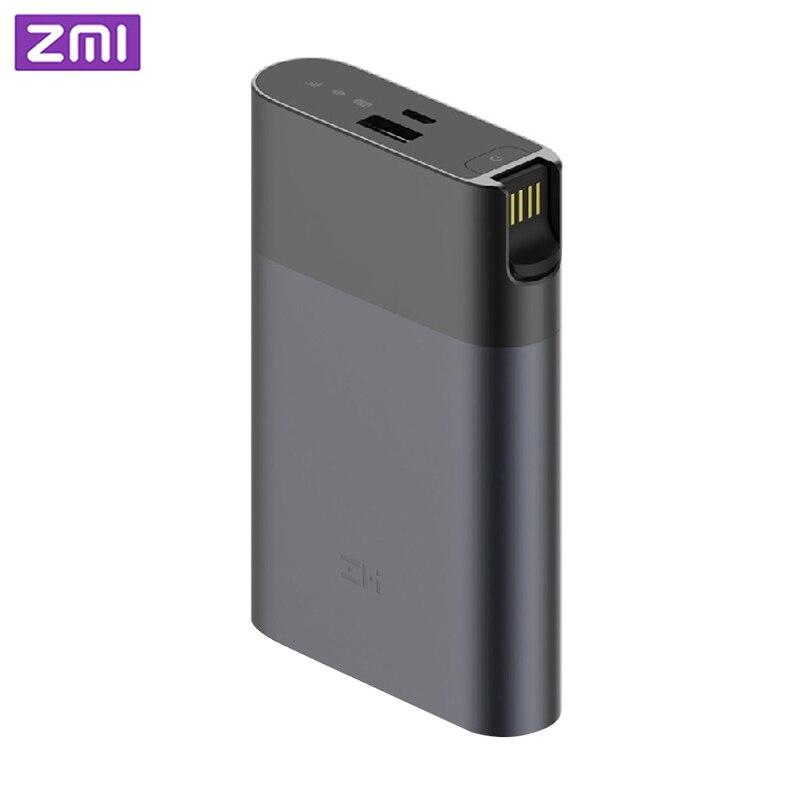 ZMI MF885 4G Wifi роутер 10000 мАч Внешний аккумулятор портативный беспроводной wifi ретранслятор 3G4G роутер мобильный Hotspot Бесплатная доставка