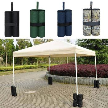 Oxford Outdoor Camping Tent Canopy Sand Bag Weights SandBag Umbrella Shelter Fixing Stand Feets Tents