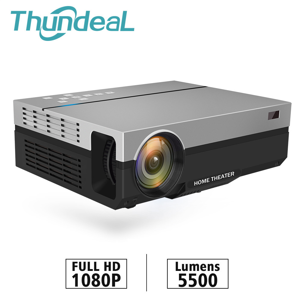 ThundeaL Full HD Projector T26K Native 1080P 5500 Lumens Video LED LCD Home Cinema Theater K19 K20 M19 M20 TV 3D T26L T26 Beamer