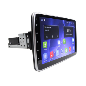 Image 2 - 2G + 32G Android 9.1 DSP IPS dönebilen 1 din araba radyo araba stereo için 360 derece evrensel araba ses Video DVD OYNATICI 4G Wifi