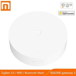 Xiaomi Smart Home Gateway Mesh-Hub Multimode WIFI Bluetooth Work Intelligent with APP