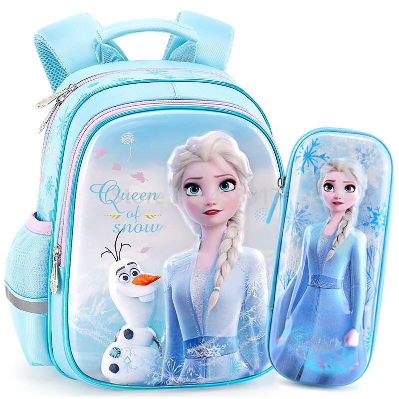 Angel Unicorn Girls Blue Preschool Toddler Kids Backpack /& Lunch Box Set