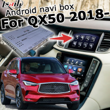 Android/Carplay interface box für Infiniti QX50 2018 video interface GPS navigation box mit youtube waze yandex durch Lsailt