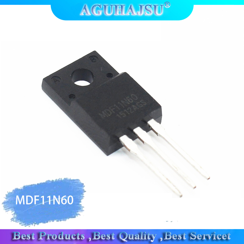 10PCS MDF11N60 TO-220 11N60 TO220 MDF11N60TH MOS Field Effect Transistor 600V11A