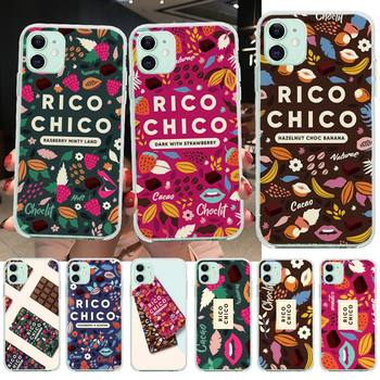 Sweet chocolate Rico Chico Bling Cute Phone Case for iPhone 11 pro XS MAX 8 7 6 6S Plus X 5S SE 2020 XR cover image