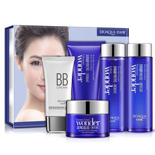 Boquanya Blueberry Cosmetic Set 5-Piece Set Moisturizing Oil Control Skin Care Products Processing Facial Nursing(China)