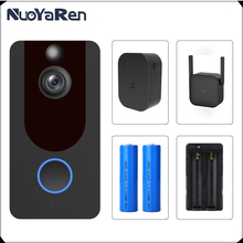 Doorbell-Camera Phone Intercom Wifi Smart Wireless Apartments Ir-Alarm Security 1080P