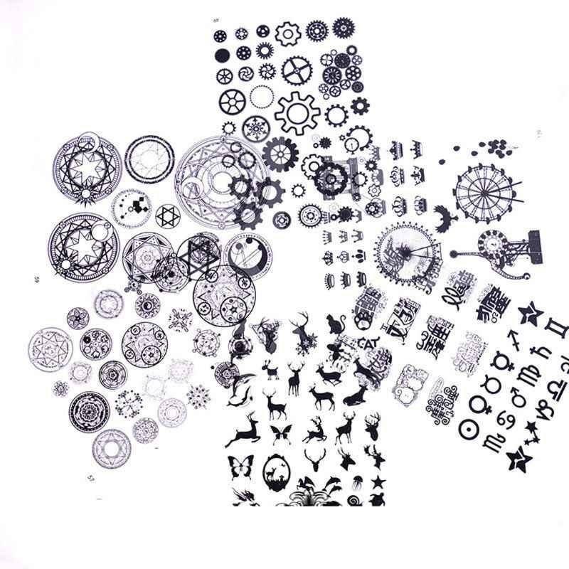 Przekładnia korona kot jeleń czaszka DIY żywica epoksydowa wypełniacze biżuteria wypełnienia materiały