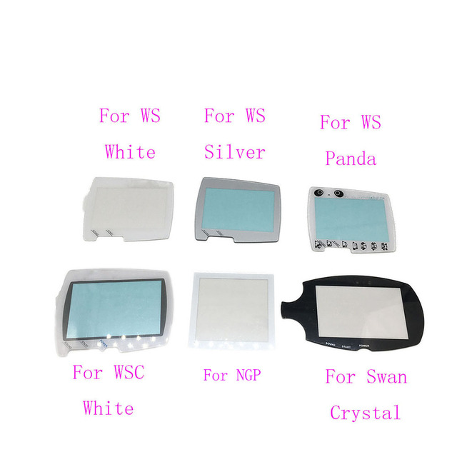 Silver White Replacement For BANDAI Wonder Swan Color WSC WS Screen Lens Protector