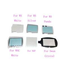 الفضة الأبيض استبدال ل بانداي عجب سوان اللون WSC WS حامي عدسة الشاشة