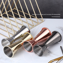 1PC Bartending Measuring Cup Cocktail Jigger Stainless Steel Measuring Cup Double Head Measuring Cup Kitchen Bar Measuring Tools