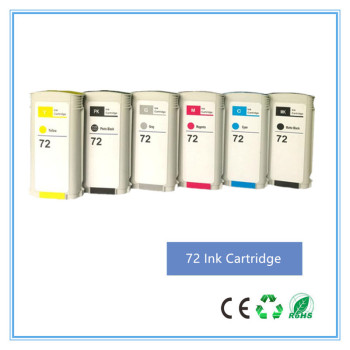 Compatible For HP 72 Ink Cartridge for hp72 ink cartridge With Chip T610 T620 T770 T790 T795 T1100 T1120 T1200 T1300 T2300 image