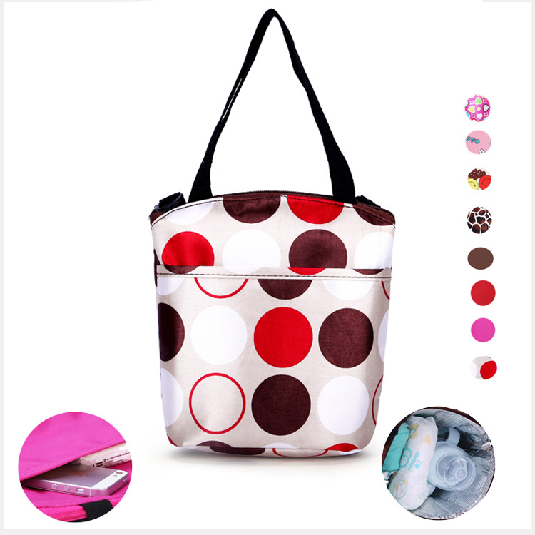 2014 Hot Sales Four 10-Color Multi-functional Insulated Baby Bottle Bag Feeder Bottle Bag Breast Milk Fresh-keeping Bag Bento Bo