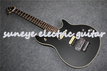 Hot Sale Matte Black Wolfg Style Electric Guitar Left Handed DIY Guitar Kit Custom Available Free Shipping create a left handed explorer model electric guitar in black same in black