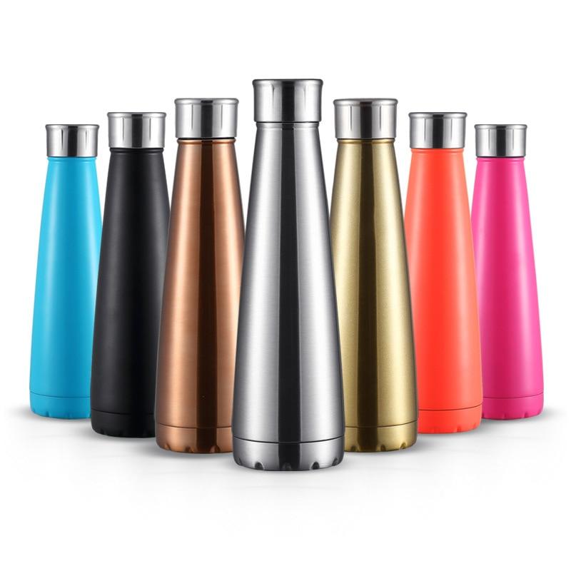450ml Stainless Steel Double Wall Vacuum Jug Insulated Water Bottles Coffee Kettle Travel Drink Vacuum Flasks Custom Logo|Water Bottles| |  - AliExpress