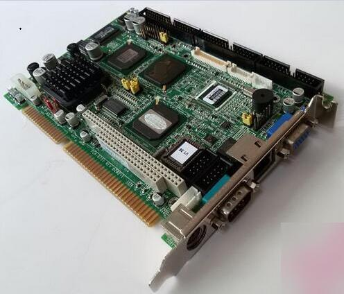New Fanless Brand PCA 6751 B202 1 ISA Industrial PC Mainboard Half Size CPU Card PICMG1