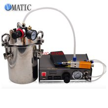 Free Shipping Glue Dispensing Machine/ Controller With 1L Pressure Tank & Glue Dispensing Valve