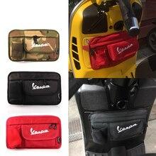 Для Piaggio Vespa LX 150 GTS 250 300 GTV 250 LX 50 LXV 150 S 150 новая водонепроницаемая сумка для хранения скутера сумка для мотоциклетного перчатка-инструмент
