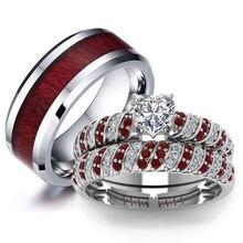 Парные кольца carofeez модное мужское кольцо из нержавеющей