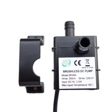 Professional Low Noise QR30B DC 5V 2 3W 220L H Flow Rate Waterproof IP68 CPU Cooling Car Brushless Water Pump 2017 Top Sale cheap Single-stage Pump Other Electric Standard 54(L)x37(W)x42(H)mm DC5V 416MA plastic 40DB 45CM 1 x Mini Water Pump 1 x U-shaped accessory