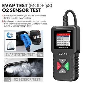 Image 3 - Ediag YA101 OBD2車診断ツールobdii自動スキャナーチェックエンジンライトグラフデータストリームpk ELM327 CR3001 AS100コードリーダー