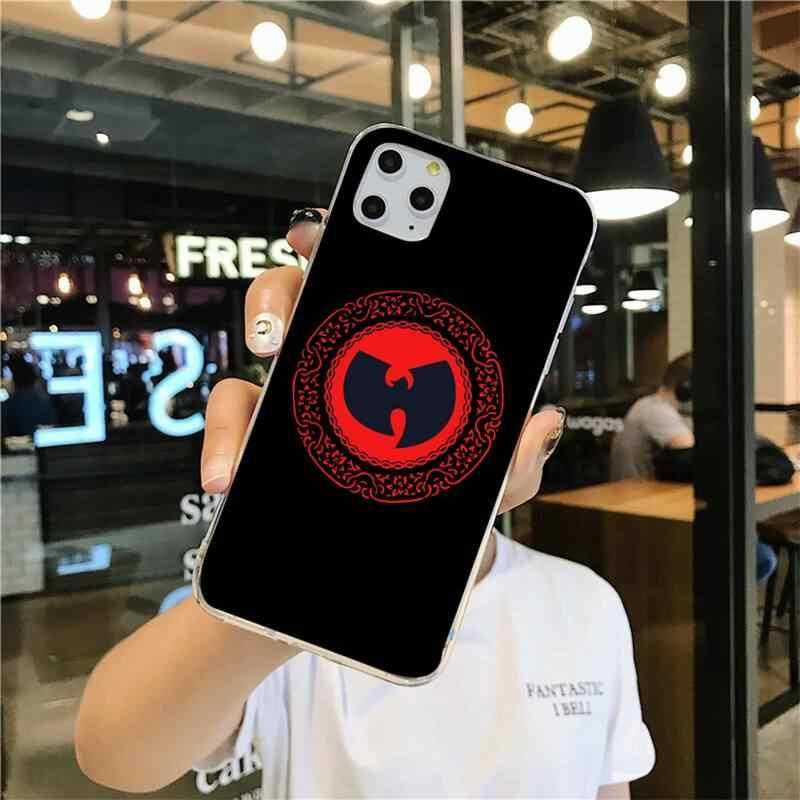 Wu Tang Clan הופ בלינג מקרה טלפון חמוד 11 פרו XS מקסימום 8 7 6 6S בתוספת X 5S SE 2020 XR כיסוי