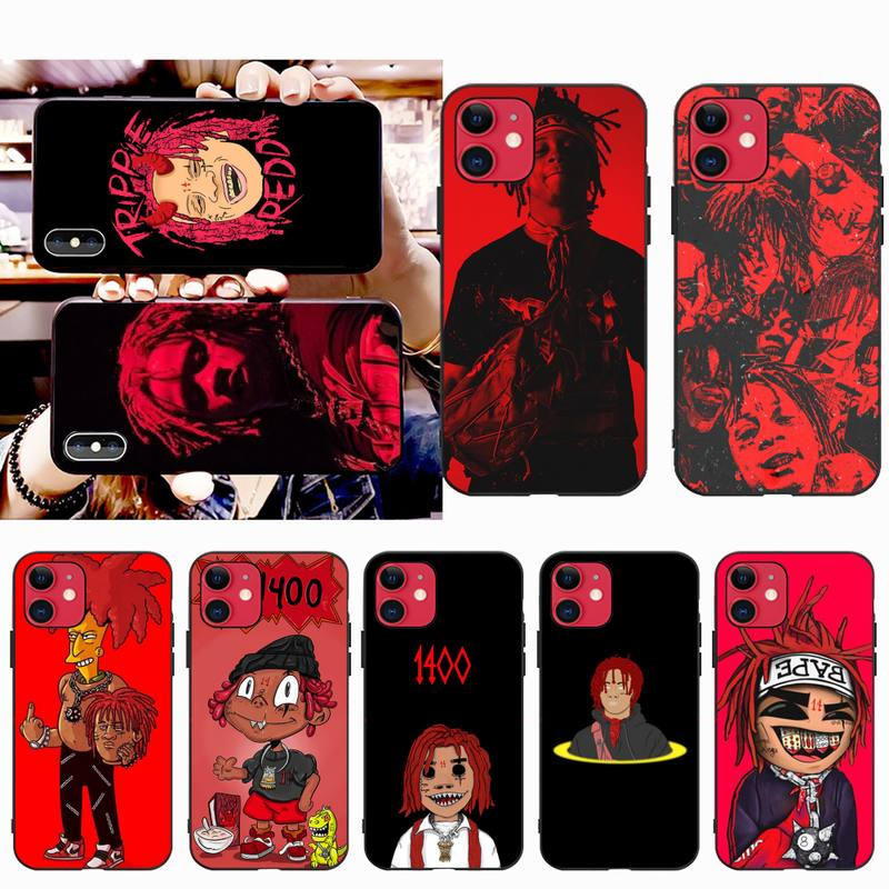 PENGHUWAN Hip hop artist Trippie Redd Luxury Unique Design Phone Cover for iPhone 11 pro XS MAX 8 7 6 6S Plus X 5S SE XR case image