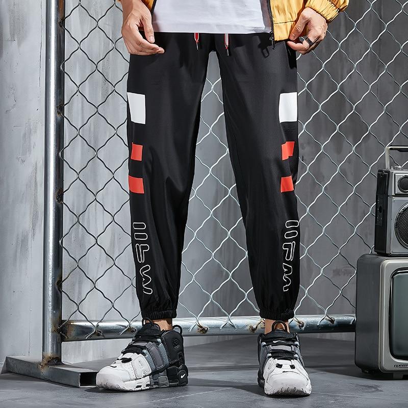 Mens Joggers Sweat Pants Streetwear Men Clothing 2019 Sport Pants Men Trousers Harajuku Black Track Pants Casual Pants Male