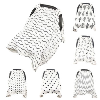 Cotton Baby Stroller Accessories Sunscreen Cloth Cover Soft Breathable Yarn Baby Basket Stroller Cover Cap Visor Sun Canopy baby stroller accessories soft breathable yarn baby basket stroller cover sunscreen cloth baby stroller mosquito net for baby
