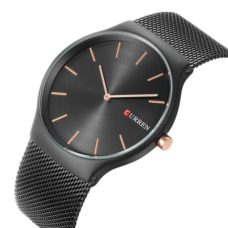 CURREN 8256 Watches men luxury brand Watchquartz sport military men steel wristwatches dive 30m Casual watch relogio masculino 4