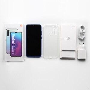 "Image 5 - Version mondiale Original Xiaomi Redmi Note 8 4GB RAM 64GB ROM 6.3 ""Snapdragon 665 48MP 4000 mAh 18W empreinte digitale visage ID infrarouge"
