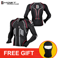 GHOST RACING Motorcycle Jacket Motocross Summer Protective safety Body Armor Moto Racing MTB Protection Clothing