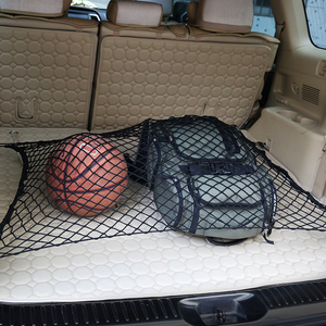 Car Trunk Nets 70 x 70 cm Elastic Strong Nylon for Porsche 911 918/Cayenne/Macan/Macan S/Panamera/Cayman/Carrera/Boxster