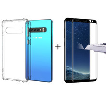 Screen Protector For Samsung Galaxy Note 9 8 10 Pro Case For Samsung/galaxy S8 S9 S10 Plus S10e 5g S7 Edge Case Screen Protector все цены
