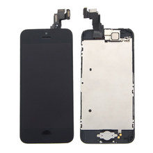 цены на Sinbeda AAA Grade LCD Display For iPhone 5 5s 5c LCD Touch Screen Digitizer Assembly+Home Button+Front Camera +Earpiece Speaker  в интернет-магазинах