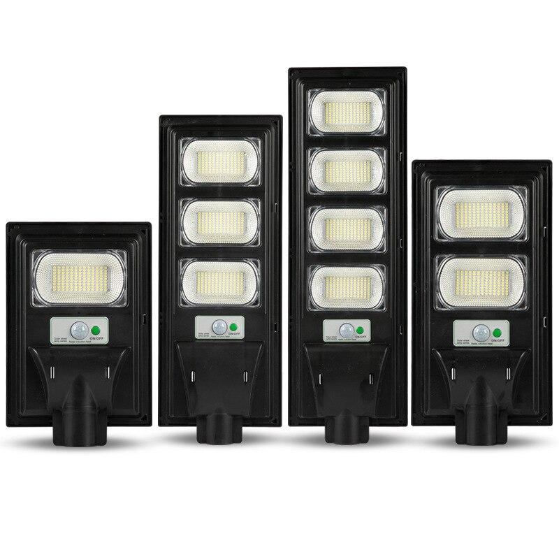 IP65 300W/600W/900W/1200W LED Solar Lamp Wall Street Light Super Bright Radar PIR Motion Sensor Security Lamp for Outdoor Garden