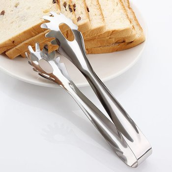 Szybka wysyłka nowy gorący 2020 ze stali nierdzewnej chleb żywności klip Spaghetti klip sałatka narzędzie do grilla klip klip żywności warzyw klip tanie i dobre opinie STAINLESS STEEL Other clip Ce ue Zestawy noży Ekologiczne silver 20 5cm
