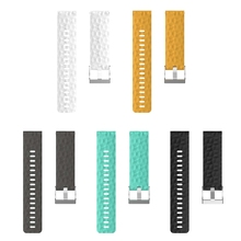 Soft Silicone Sports Wrist band Strap Bracelet for Suunto Spartan Sport Wrist HR Baro Watchbands Straps цена и фото