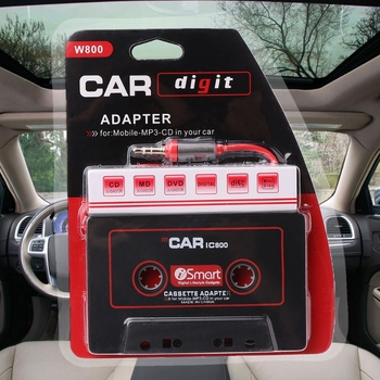3.5mm Car AUX Tape Cassette Adapter Converter For Car Player MP3 E7CA image