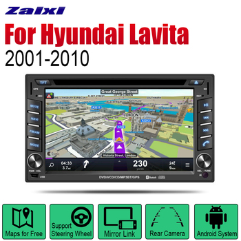 Android multimedia Car player for Hyundai Lavita 2001~2010 Navigation DVD GPS system audio stereo display screen