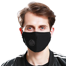 Mens Women Safety Anti Dust Mask Easy Breathe Reusable Washable Face